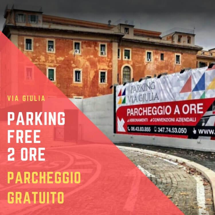 parking free parcheggio gratuito